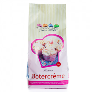 FunCakes Mezcla para Crema de Mantequilla (Buttercream) 1kg
