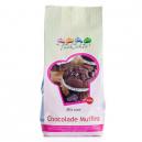 FunCakes Mezcla para Muffins de Chocolate 500g