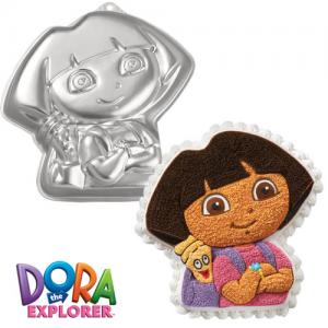 Molde Wilton con forma de Dora Exploradora