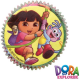 Wilton, Cápsulas Cupcakes Dora Exploradora.50u