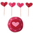 Set para cupcakes: Party Pack Valentine Wilton