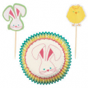 CUPCAKE PARTY PACK 24X24  PASCUA