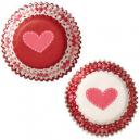 Wilton Valentine Mini Baking Cups Cupcake