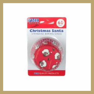 PME Mini Baking cups santa pk/100