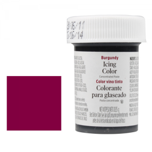 Wilton EU Icing Color - Burgundy - 28g