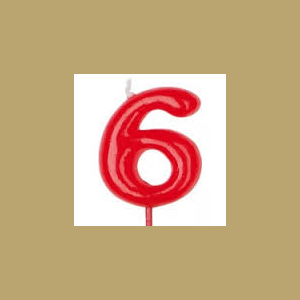 VELA ROJA Nº 6