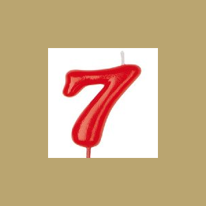 VELA ROJA Nº 7