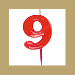 VELA ROJA Nº 9